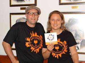 Biersommelier Holger Hahn und Weinexpertin Nicola Neumann organisierten gemeinsam die 1. Münchner Bierinseln.
